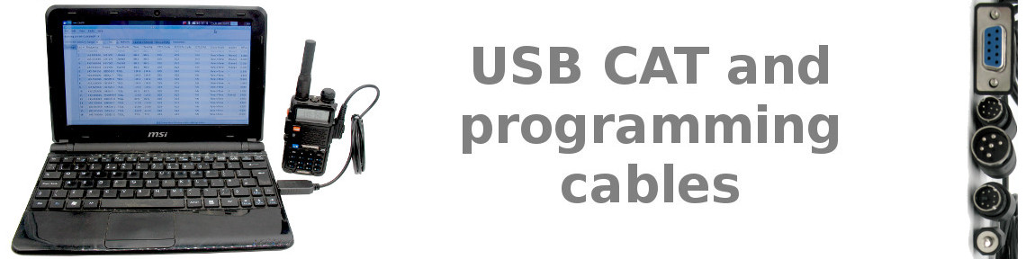 USB Cat and programming cables