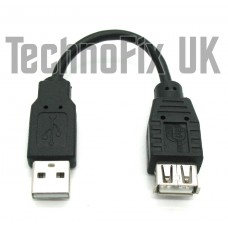 12cm USB 2.0 extension cable