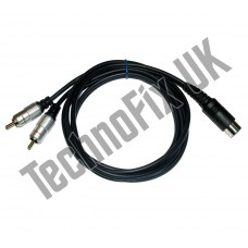 7 pin dual-band Linear amp switching cable for Icom IC-7400 IC-746 inc. Pro