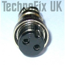 2 pin power connector locking plug (GX16-2)