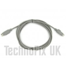2m 6 pin mini DIN extension cable for datamodes audio interface FT-8 etc.