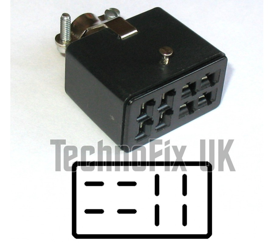8 pin female rotator or power connector  fits hy gain ham