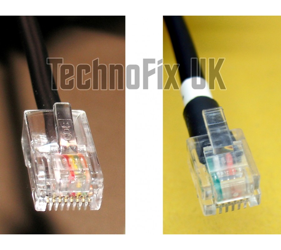 Cable For Pmc 100 Desk Microphones 8p8c Modular Plug To