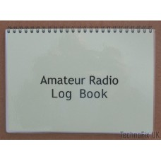 Compact Amateur Radio Log Book - Laminated Covers