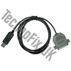 USB COM Cat control cable for JRC NRD-535, NRD-545 Receivers and JRC JST-245