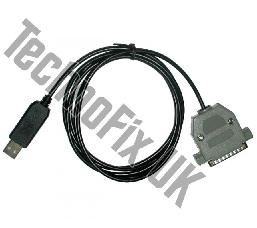 USB COM Cat control cable for Icom IC-R8500 receiver - TechnoFix UK