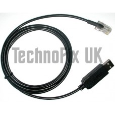 FTDI USB programming cable for Philips & Simoco PRM80 & SRM9000 series radios