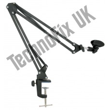 Boom arm for Heil & other studio microphones - desk mounted