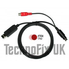 FTDI USB Cat & programming cable with linear PTT out for Yaesu FT-100 FT-817 FT-857 FT-897