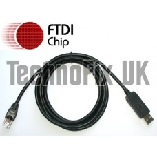 FTDI USB to serial/RS232 console rollover cable for Cisco routers - RJ45 - The original all-in-one.