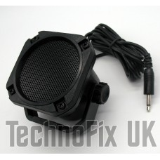 Compact weatherproof extension speaker 3.5mm jack