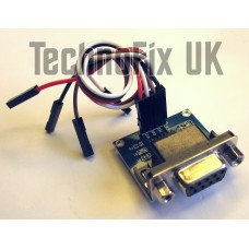 DB9F RS232 to TTL level converter module (Raspberry Pi WRT54g PIC AVR Arduino)