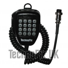 DTMF microphone for Kenwood TS-2000 TM-702 TM-321 TM-731 TS-680 etc. - 8 pin round connector