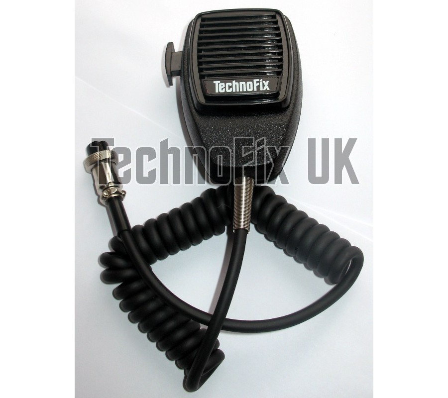8 Pin Microphone For Yaesu Technofix Uk