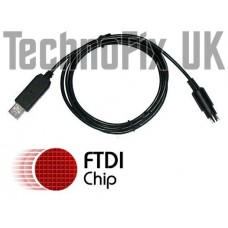 USB programming cable for Yaesu FTM-350, CT-142 USB equivalent