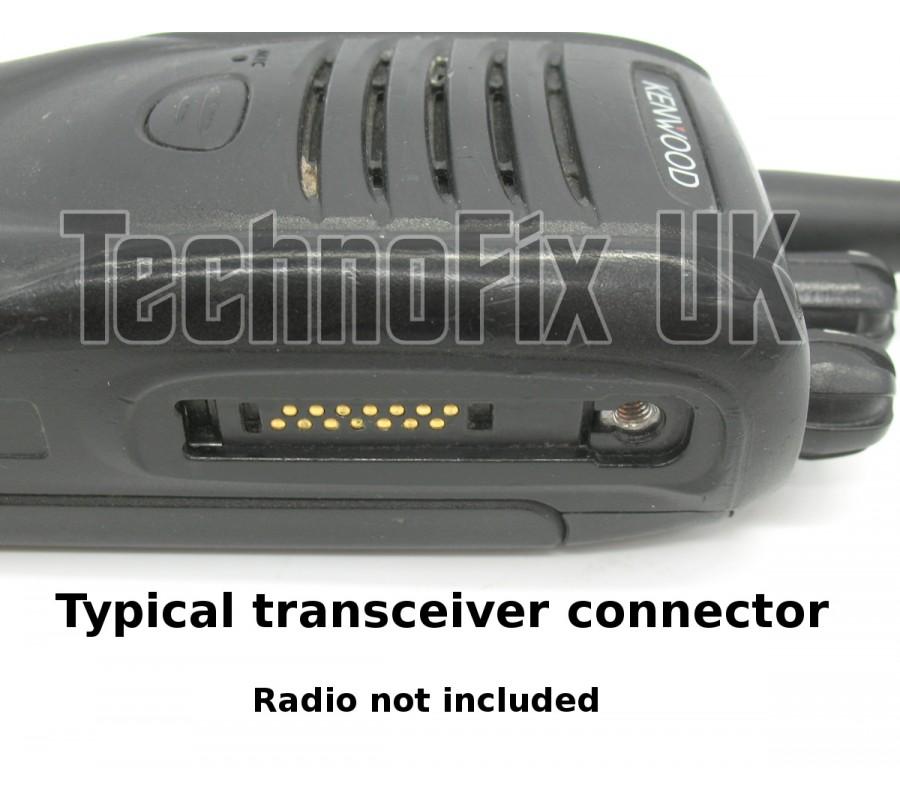 USB programming cable for Kenwood NX-200 NX-300 14 pin KPG