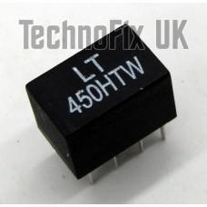 LT450HW 6kHz wide 450kHz IF ceramic filter replaces CFWS450H