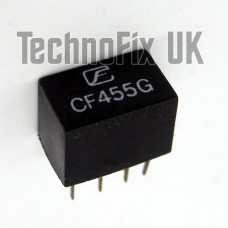 LT455GW 9kHz wide 455kHz IF ceramic filter replaces CFWS455G