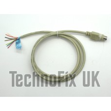 Audio breakout cable, 6 pin mini DIN for APRS datamodes EchoLink SSTV PSK31 etc. PG-5A