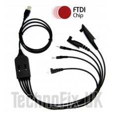 FTDI USB 5 in 1 programming cable for Motorola transceivers