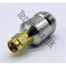 N type female to SMA male adapter (N type F to SMA M)