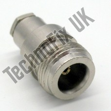 N type Female compression connector 5mm cable RG58  etc.