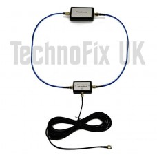 Passive portable magnetic loop antenna for MF, HF and VHF