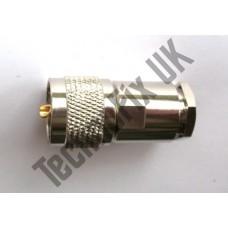 PL259 UHF Male compression clamp connector RG8 RG213 LMR400 etc.