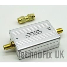 RTL-SDR.com Wideband LNA - Bias Tee Powered - 50 MHz to 4 GHz