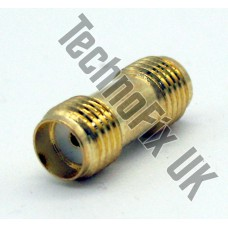 SMA female to female coupler (SMA F to SMA F)