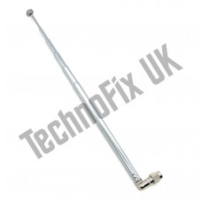 SMA male telescopic antenna 490mm long for SDRPlay FunCube HackRF etc.