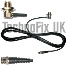 SO239 antenna mount base, 7.5m cable to BNC plug, for aerials with PL259 fitting