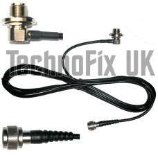 SO239 antenna mount base, 4m cable to N-type plug, for aerials with PL259 fitting