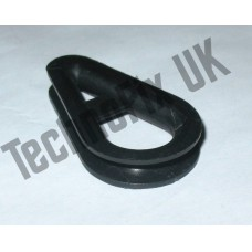 Plastic thimble for aerials, antennas, guy wires etc.