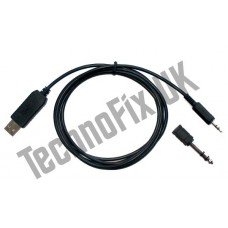 USB CW morse code keying cable with opto-isolator